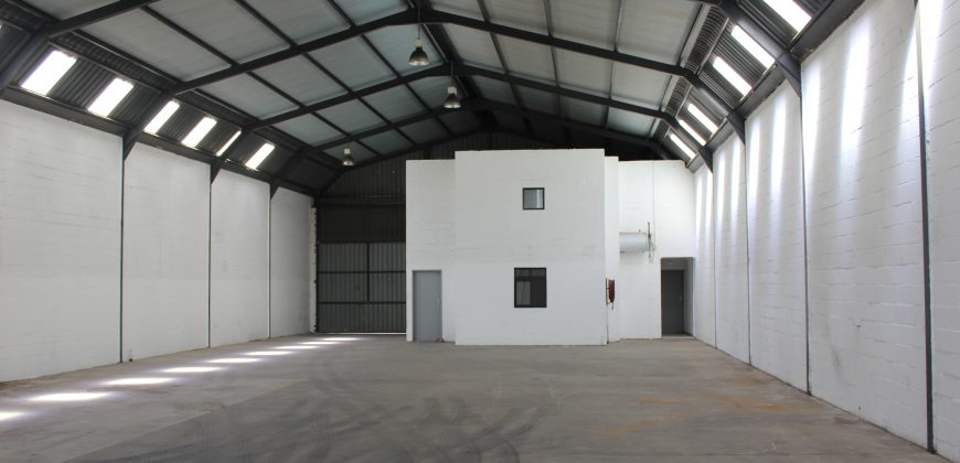 500m2 Factory in the very popular Killarney Gardens
