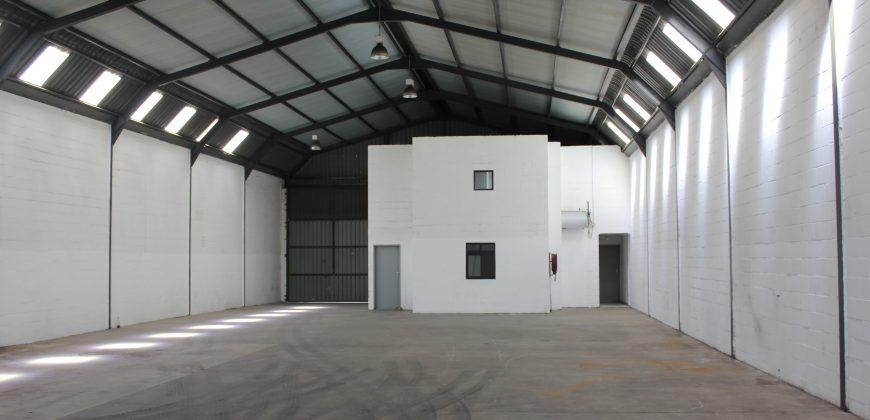 500m2 Factory in the very popular Killarney Gardens